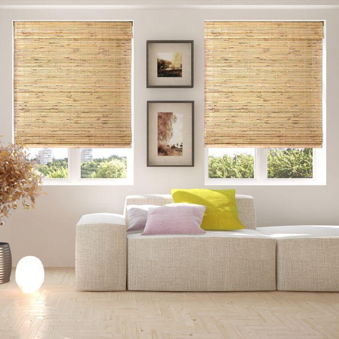 Arlo Cordless Bamboo Shades Customized Bamboo Blinds With