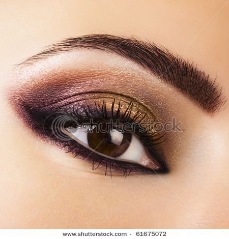 Great make up look for brown eyed girls