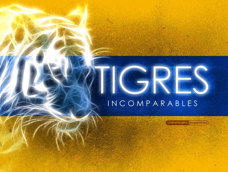 #Incomparables #Tigres @Cheryl Blondin TIGRES #LigraficaMX