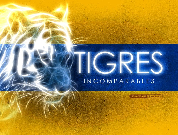 #Incomparables #Tigres @CLUB TIGRES #LigraficaMX