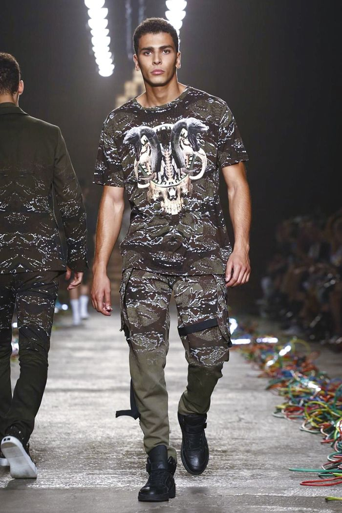 Younes Bendjima | ‪#‎MFW‬: Marcelo Burlon County of Milan SS16