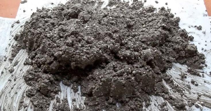 """Nessa vídeo-aula mostrarei COMO FAZER """"A MASSA"""" com cimento, areia e bolinhas de isopor = concreto celular caseiro.   Para depois você pode..."""