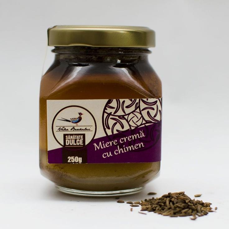 Honey cream with cumin
