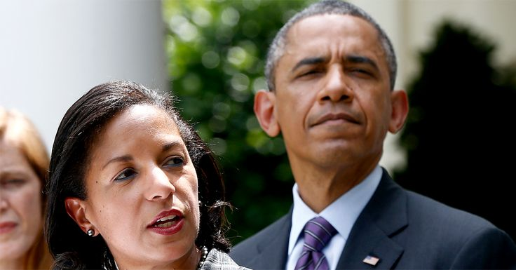 """Former Obama National Security Adviser Susan Rice, has been Id'd as the Obama operative and Leaker who oversaw the """"incidental spying and unmasking"""" program"""