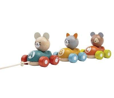 Draleke, tog med dyr | Sprell - veldig fine leker og barneromsinteriør
