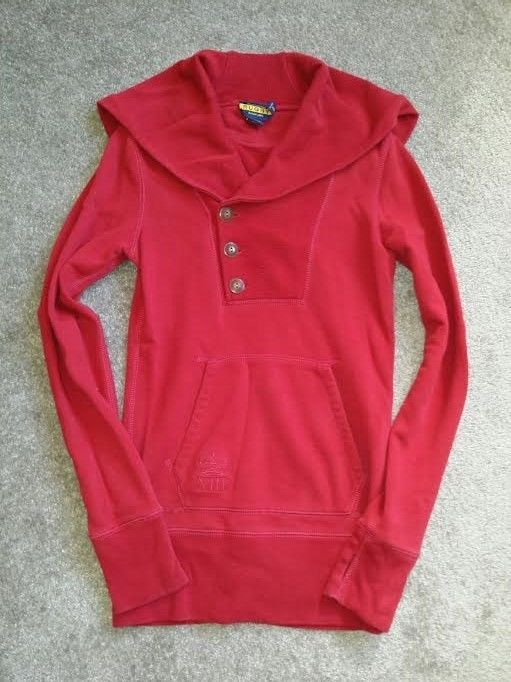 RALPH LAUREN Rugby Collar Hodie S US like new rrl double rl