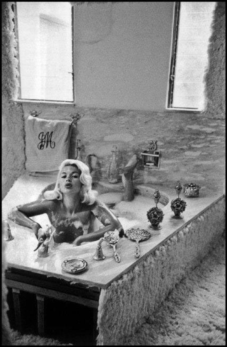 Jayne Mansfield At Home U2026 Hollywood U2026 1959 U2026 By Inge Morath U2026 Jayne  Mansfield American, Actress, Major Broadway Star In Major Hollywood Star In  Leading ...