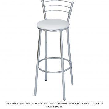 Banco BAC10 Alto Branco R$129