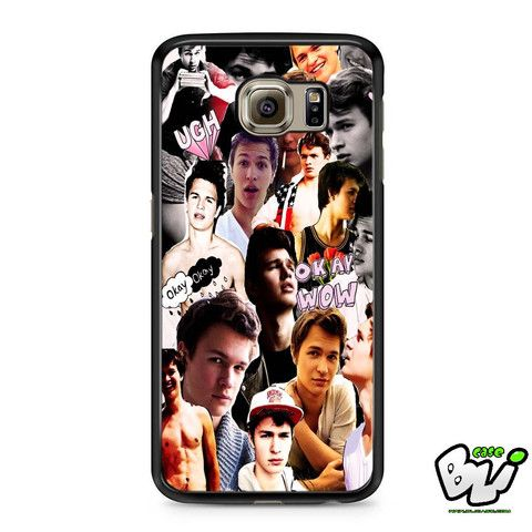 Ansel Elgort The Fault In Our Stars Samsung Galaxy S7 Edge Case