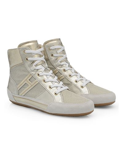#HOGAN Women's Spring - Summer 2013 #collection: leather and suede High-Top #sneakers H207.
