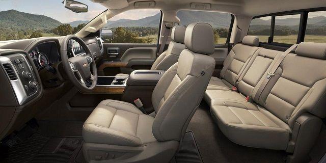 2016 Chevy Silverado 2500 and 3500 HD - interior