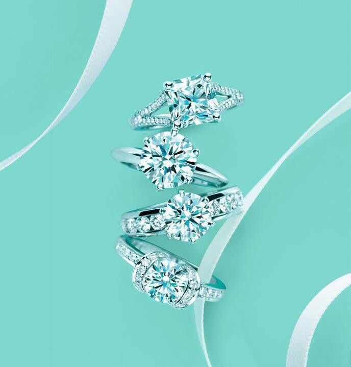 Tiffany diamond rings, I'm not saying yes unless it's from Tiffany's!