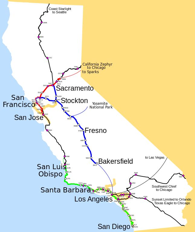 Best Railroad Maps Images On Pinterest Train Maps And Chicago - Amtrak map western us