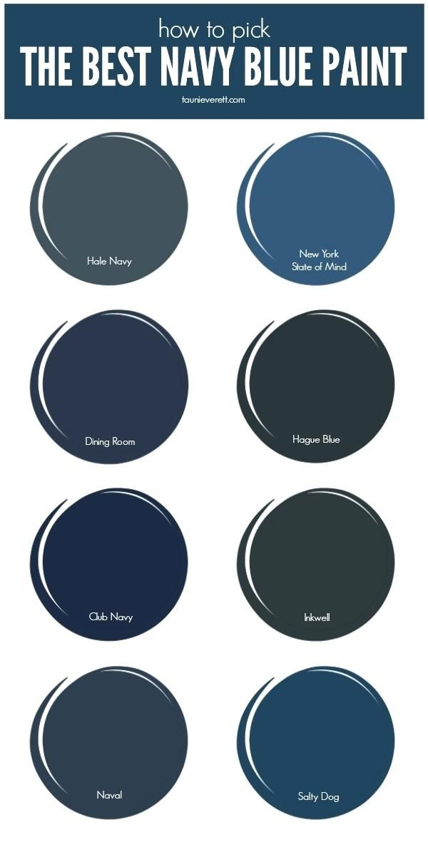 Dark Blue Paint Colors Check Out The Best Navy Curly Inside Remodel 9