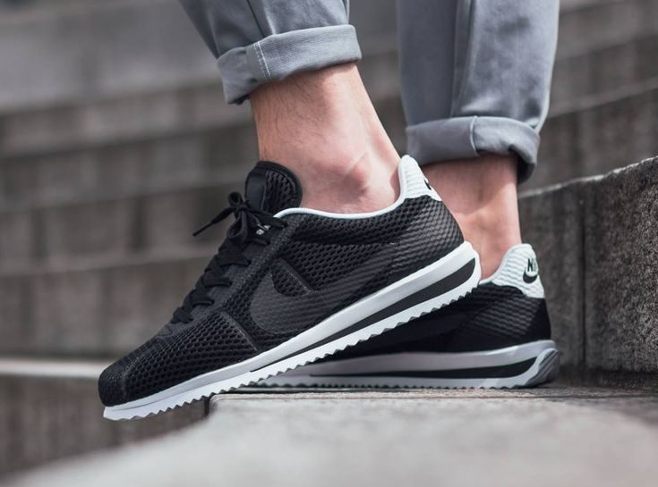 wholesale dealer d8ca5 c6a29 ... Basket Nike Cortez Ultra BR Breathe Black (2) Chaussure Pinterest Basket  nike, ...