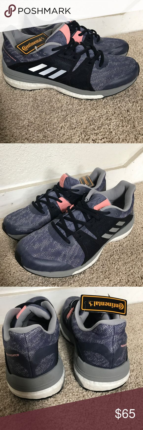 Adidas Supernova Sequence 9 Women's 7.5 Brand new adidas supernova sequence 9. Never been used has tag still on. Comes with the boost insoles. Color is Super Purple/Silver Metallic/Mid Grey. Please see pics. Questions please ask. Reasonable offers accepted adidas Shoes Athletic Shoes