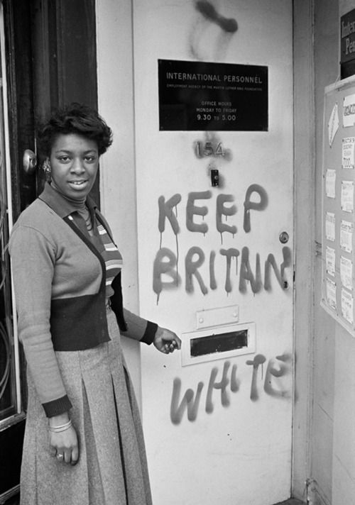 "Commenting on his photography 4 the Black Panther Movement in the UK, photographer Neil Kenlock recalls ""Pple were calling us all sorts of names in the streets & painting graffiti everywhere. In school, there was no black history...If you asked the teachers where black people came from, they would say: 'Somewhere in Africa, up a tree,' & that's it. So w/ the Black Panther movement we had educational classes, public meeting & lectures."""