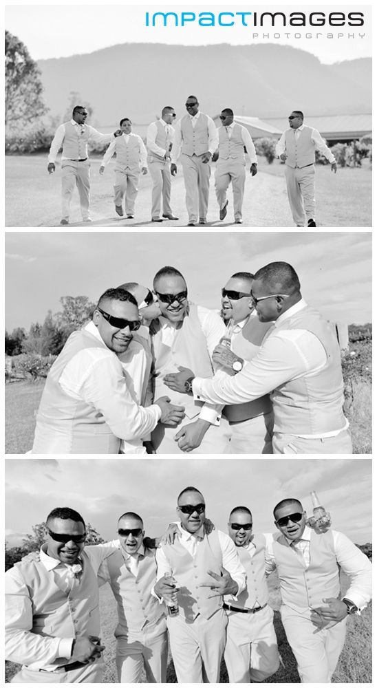 The groom and his groomsmen. Wedding Photography on the Central Coast by Impact Images www.impact-images.com.au #ImpactImagesNSW #AndrewHellmich #centralcoastweddingphotographer #impactimages #weddingphotographer #huntervalleyweddings #newcastleweddingphotographer   #huntervalleyweddingphotography