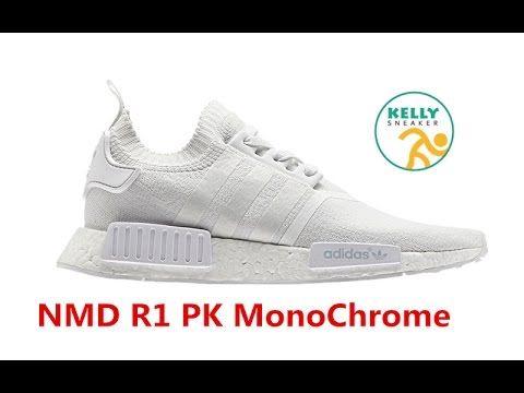 Best Replica UA NMD R1 PK Mono Chrome White | Kelly\u0027s UA NMD R1 MonoChro. Nmd  R1Adidas ...