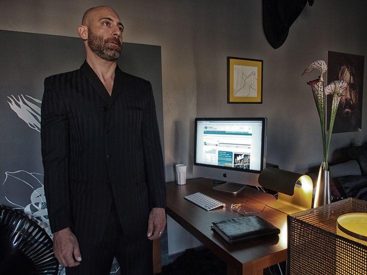 Pin –stripeds suit, yiorgoseleftheriades.com