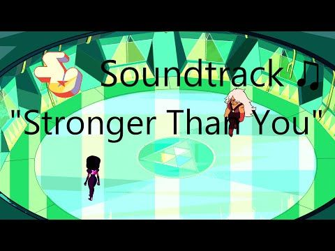 Steven Universe Soundtrack ♫ - Stronger Than You (feat. Estelle) [Raw Audio] - YouTube--this was stuck in my head all day!