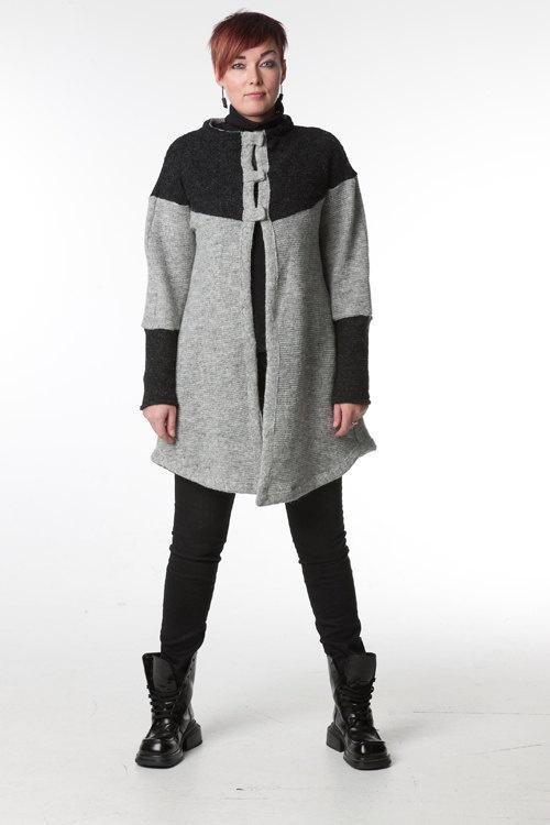 TOG Bjork Icelandic Wool Sweater Jacket by gudbjorgrut on Etsy