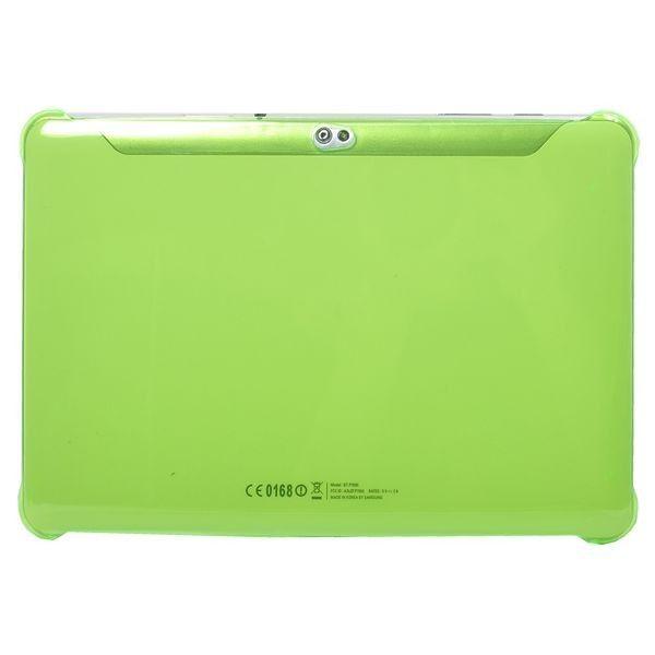 Slim Series (Grønn Gjennomsiktig) Samsung Galaxy Tab 10.1 P7500 Deksel
