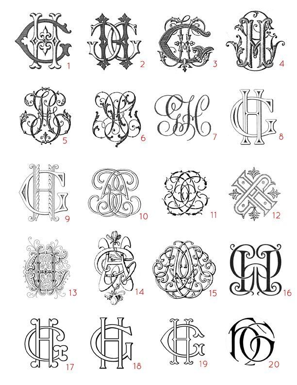Best 25+ Monogram design ideas on Pinterest