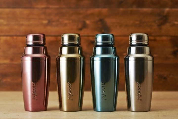 ステンレスボトル「mosh!」シリーズに、カクテルシェイカーをモチーフにした新商品が仲間入り。