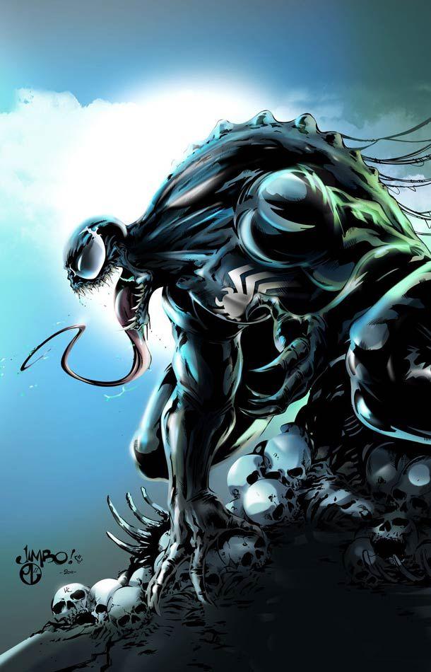 Venom: has always been my favorite super villain. He's badass.