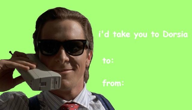 American Psycho, Valentines Day Card, Christian Bale