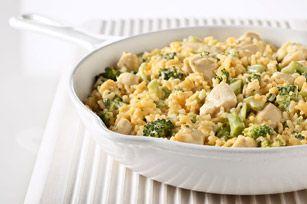 VELVEETA Cheesy Chicken & Broccoli Rice