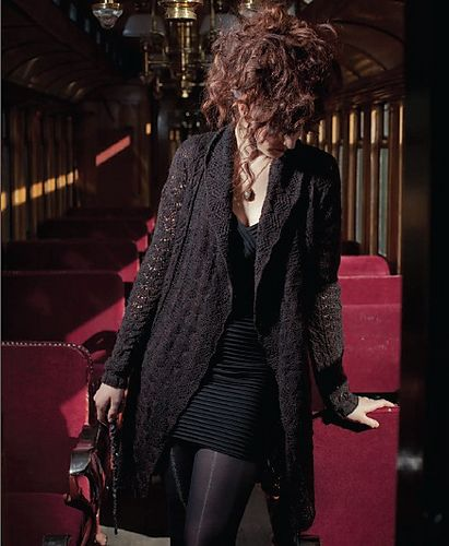 Ravelry: Lestrange Cloak pattern by Catherine Salter Bayar