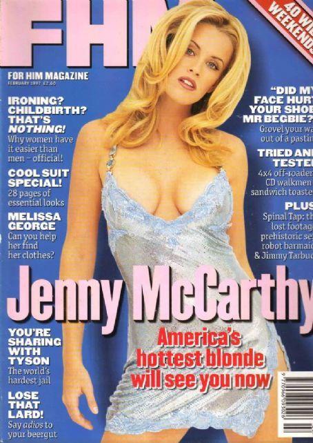 Jenny McCarthy - FHM Magazine [United States] (February 1997)