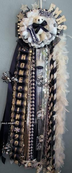 Flower Mound High School Homecoming Mum          www.melzmumz.com