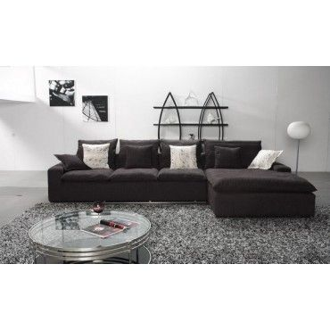 Leather Sofa City Slate Fabric Sectional Sofa by True Contemporary at Wholesale Furniture Brokers Canada Canada Canada This fabric sectional sofa is fit for casual and