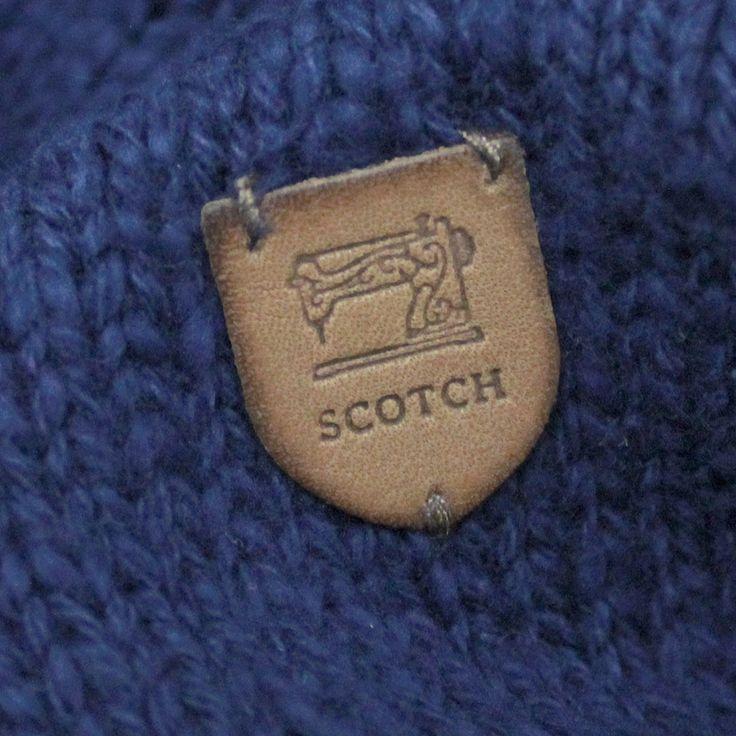 SCOTCH&SODA(スコッチ&ソーダ):SHRUNK/コットンニットパーカー ロイヤル(55) の通販【ブランド子供服のミリバール】