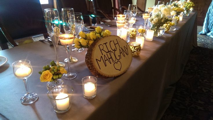 Gold Nature Mountain Wedding Decorations Inspiration | Silvertip Resort Canmore | Persona Weddings