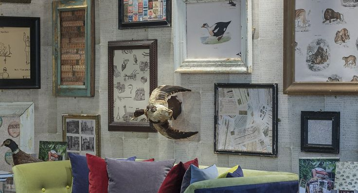 Fab collection of different wall coverings