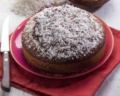 Gâteau au yaourt, chocolat et coco   Cuisine AZ