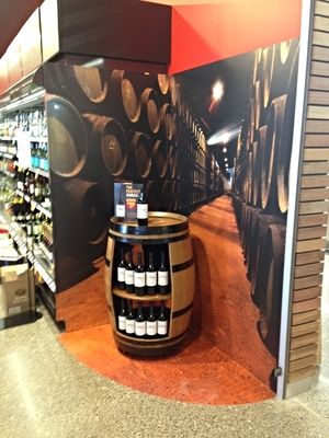In store display - Coles LIQUORLAND Vic