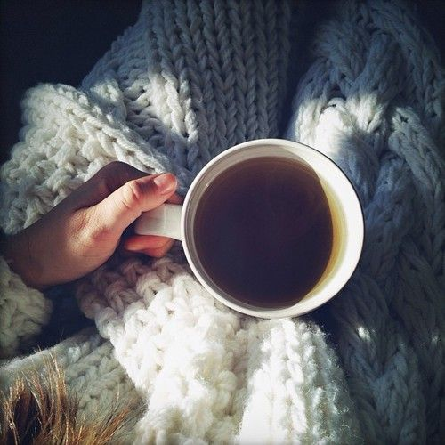 warm tea and jumpers
