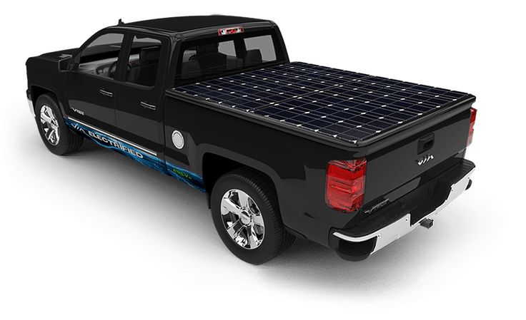 Solar Panel Truck Bed Cover