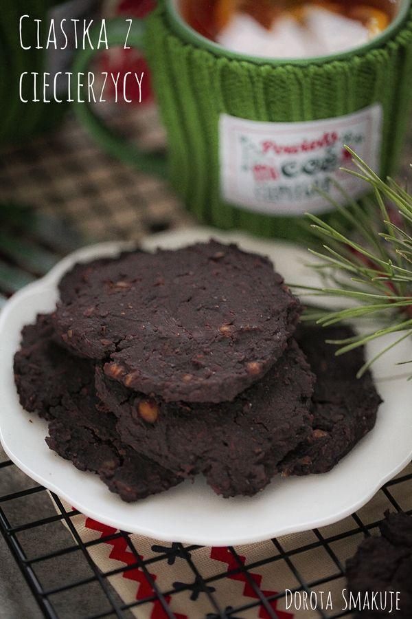Ciastka czekoladowe z ciecierzycy