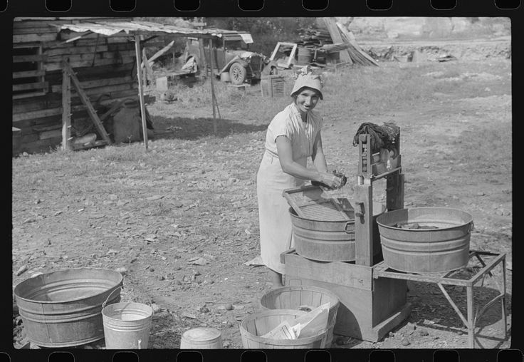 Wife of WPA (Works Progress Administration) worker, Charleston, West Virginia. 1938 Sept. Library of Congress.