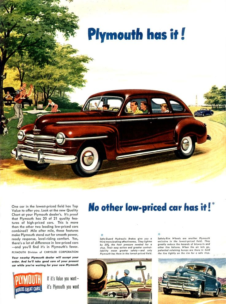1947 Plymouth Special Deluxe 4-Door Sedan