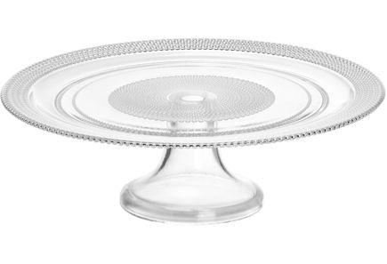 House Diamond -jalallinen kakkuvati 31 cm. Konepesunkestävää lasia.