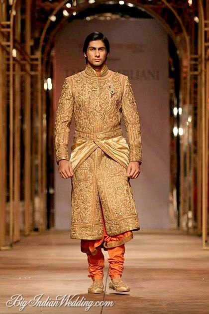 Tarun Tahiliani grooms' collection