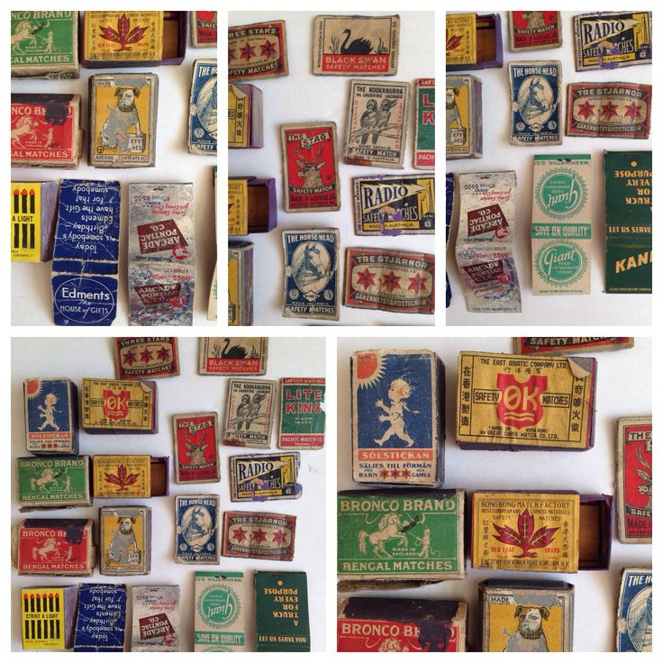 19x Vintage Match box & book covers, mixed old lot, $10 +post in Oz. Collectable smoking tobacciana