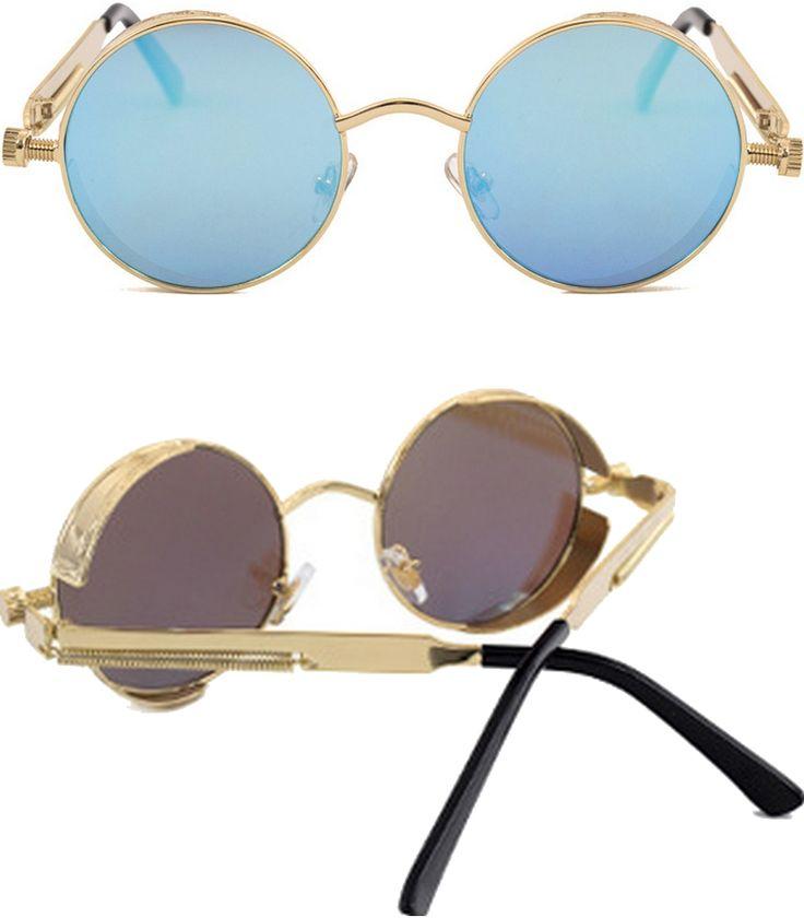 Lunettes De Soleil Eye Eye Fashion Hommes Et Femmes Lunettes De Soleil Glace Bleue MHawU